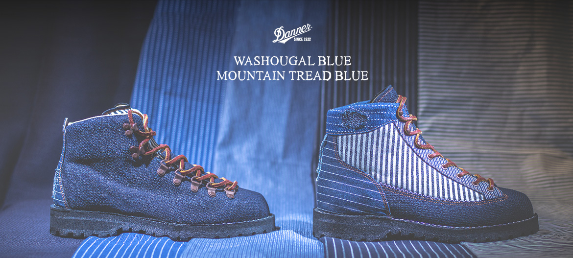 DANNER WASHOUGAL BLUE & MOUNTAIN TREAD BLUE